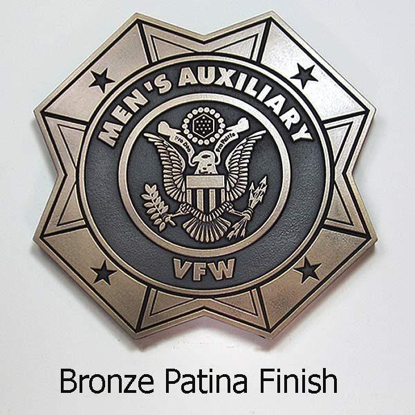 VFW Emblems - Bronze