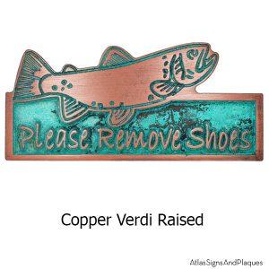 Mini Trout - Copper Verdi