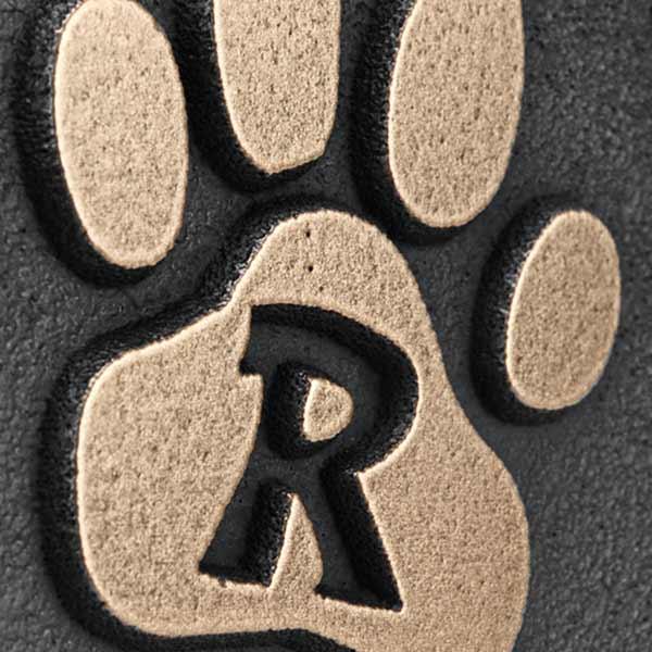 Pet Memorial Plaque - Bronze Detail
