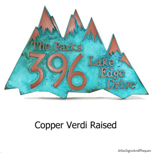 Snow Capped Mountains - Copper Verdi
