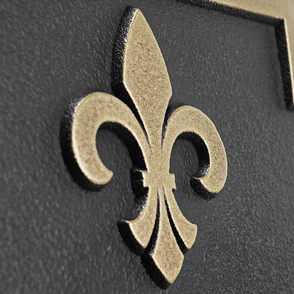 Stanton Marker - Brass Detail