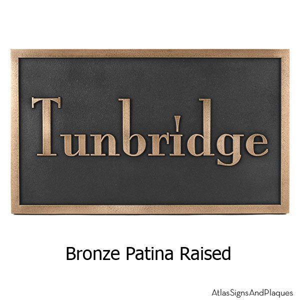 Stanton Plaque - Bronze