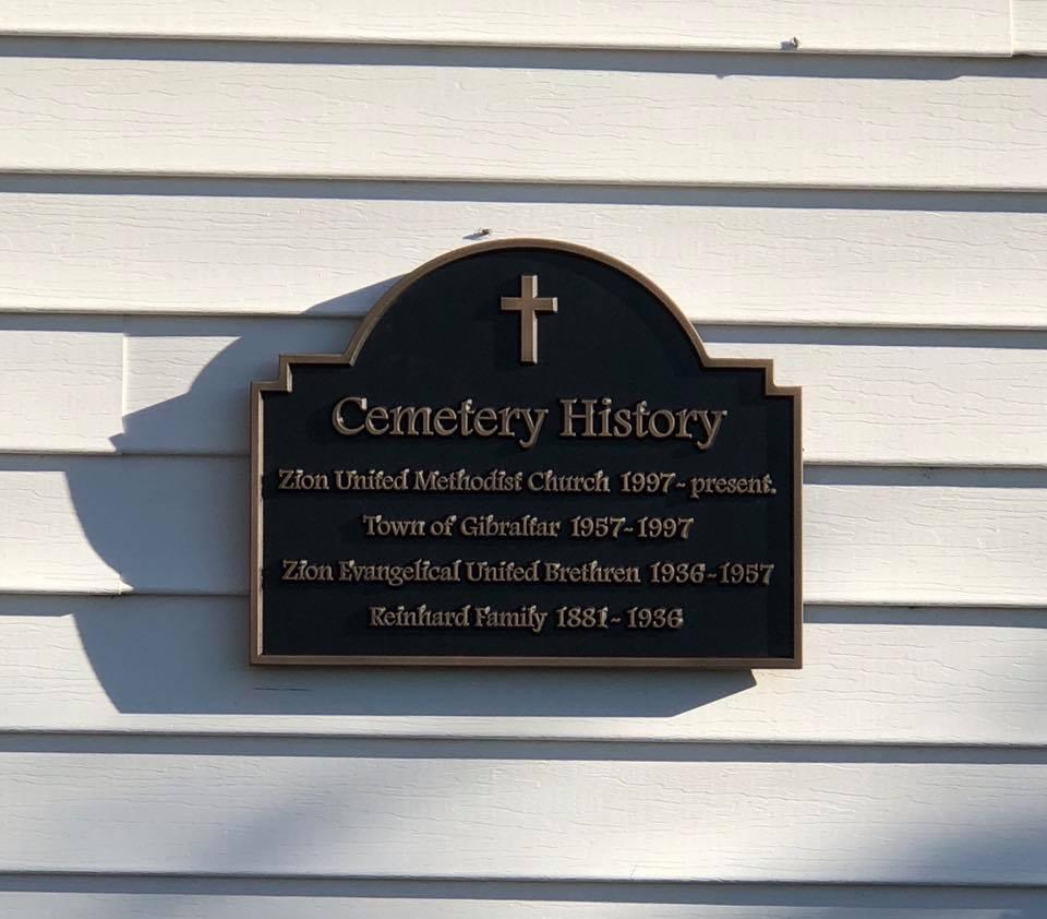 Religious Dedication Plaque