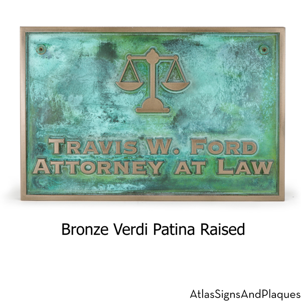 Attorney At Law Sign
