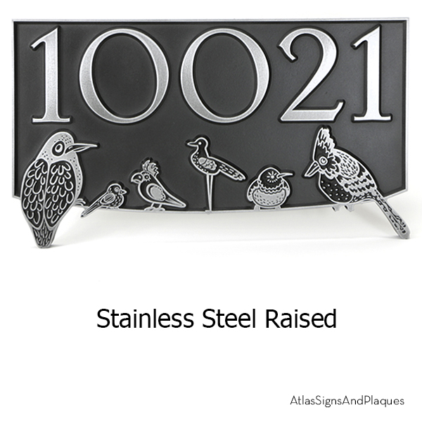 Birds On A Wire Block Party Stainless Steel