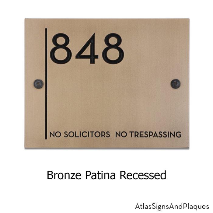 building recognition plaque