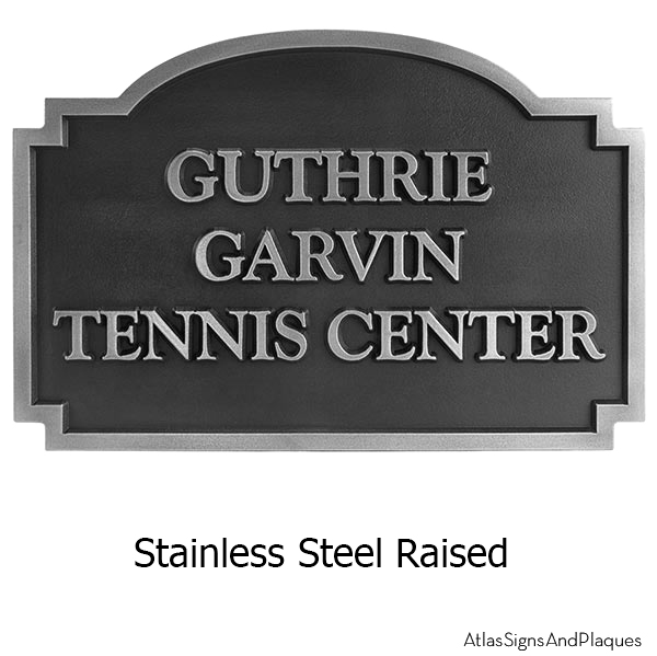 Stainless Steel Commercial Welcoming Sign