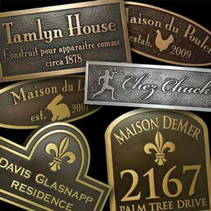 Getting Frenchy at Atlas Signs and Plaques