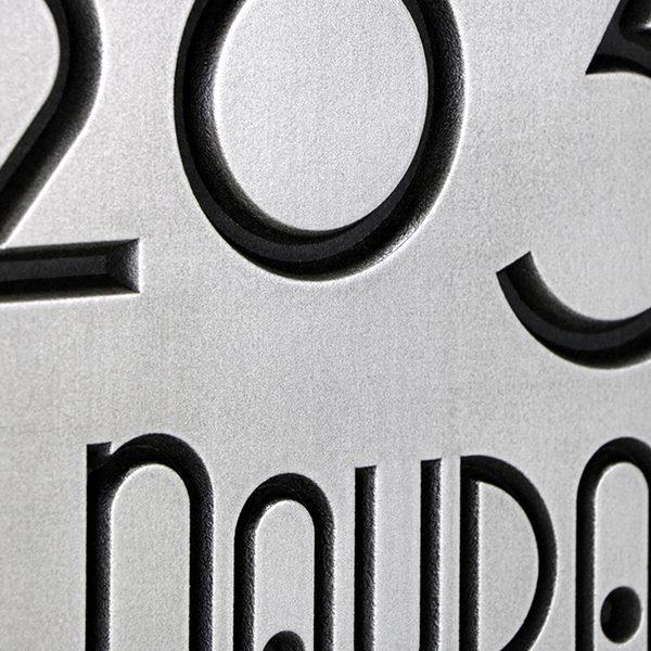 Grado Gradoo Stainless Steel Recessed Detail