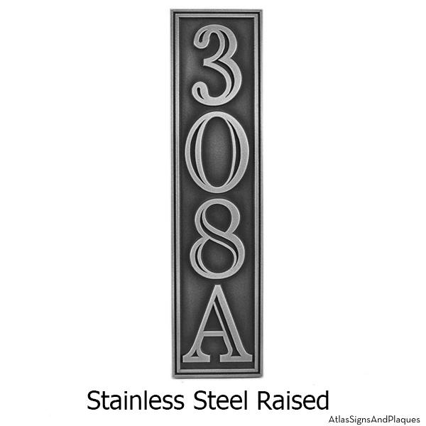 Hesperis Vertical Stainless Steel