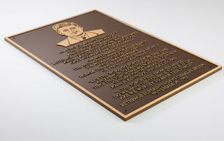 """15""""W x 30""""H Precision Tooled Bronze with Attached Flat Relief"""