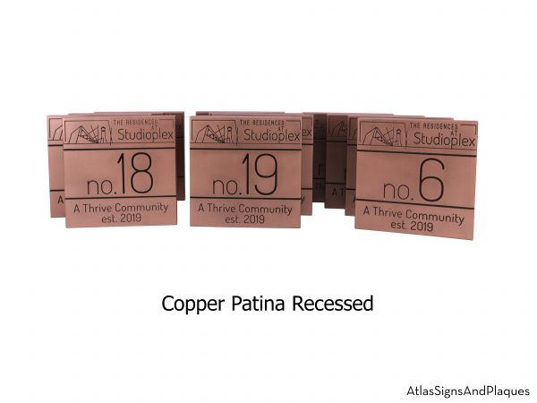 Large Commercail Projects Shown in Copper
