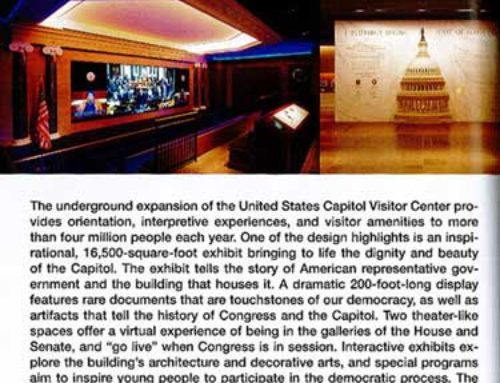 Looking Back At The United States Capitol Visitor Center