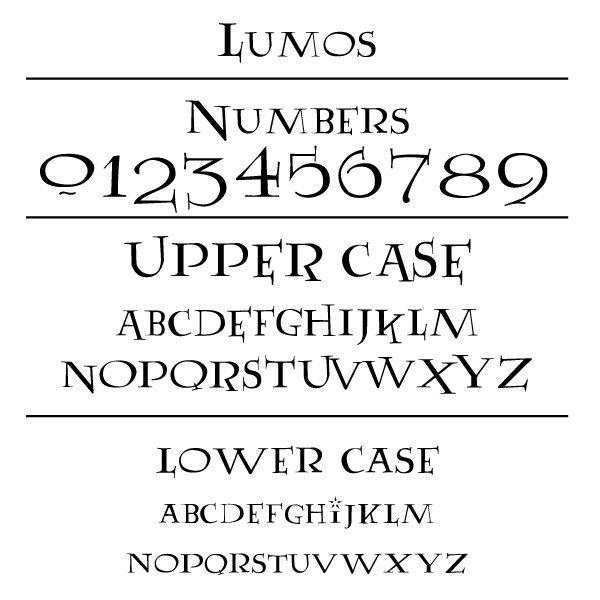 Lumos Font