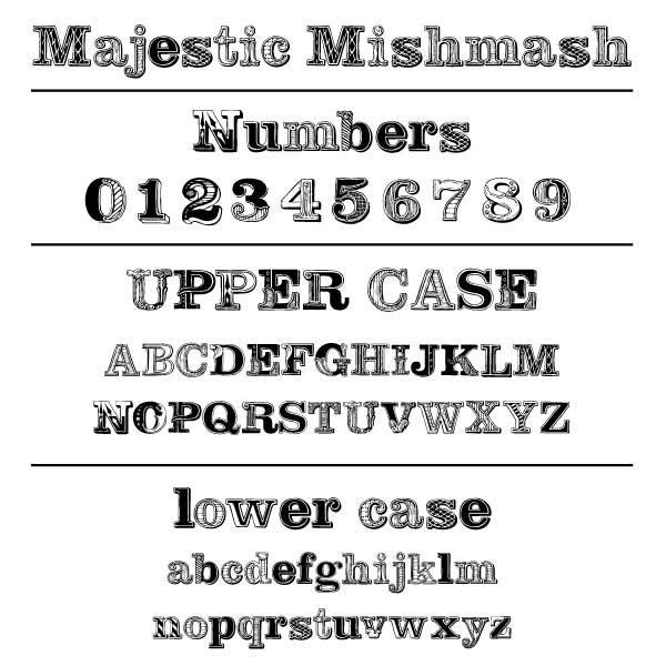 Majestic Mishmash Font