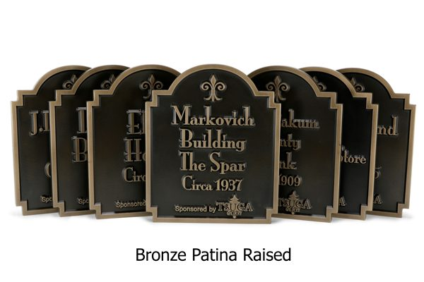 Large Commercial Projects Historic Markers