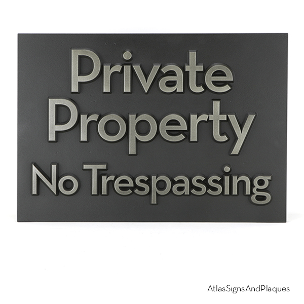 Private Property Silver Nickel
