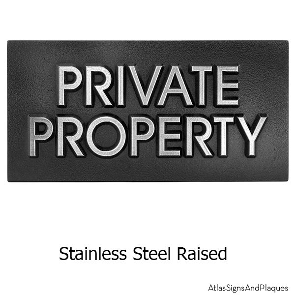 Stainless Steel Modern Advantage Private Property