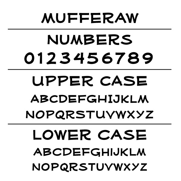 Mufferaw-Font Card