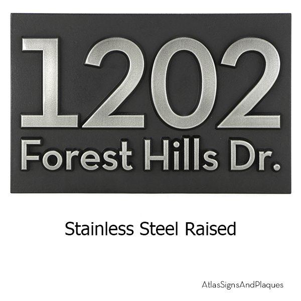 Neutraface Stainless Steel Raised