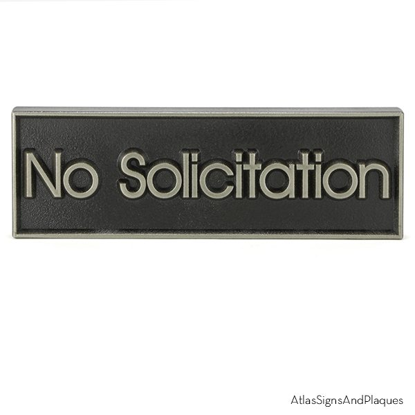 No Solicitation Silver Nickel