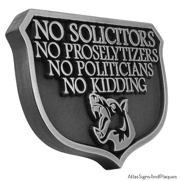 Stainless Steel No Kidding Solicitors