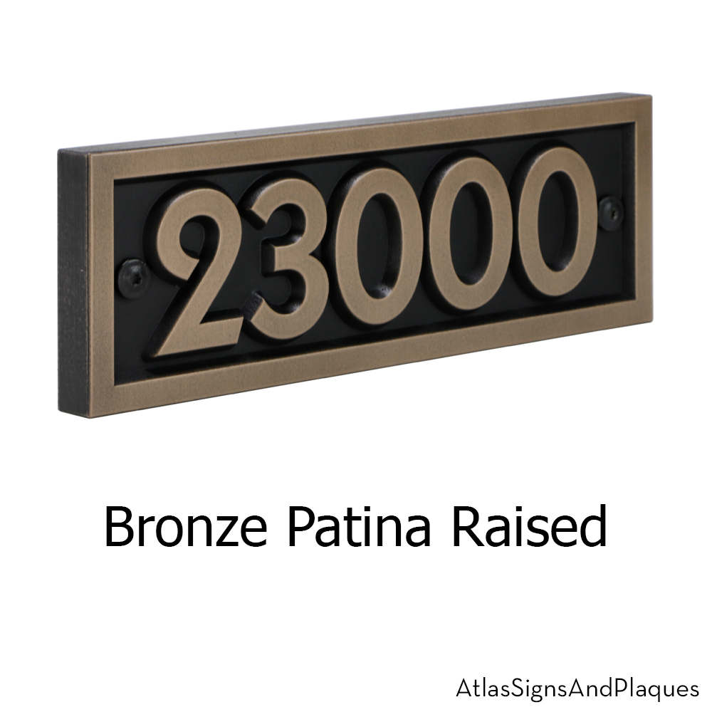 Pleione Address Plaque