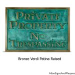 Lumos Private Property No Trespassing