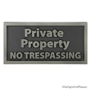 Private Property Silver Nickel One Off
