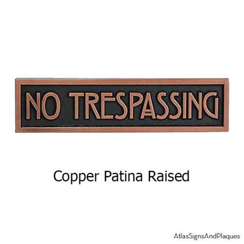 Copper MINI STICKLEY Phrase Plaque