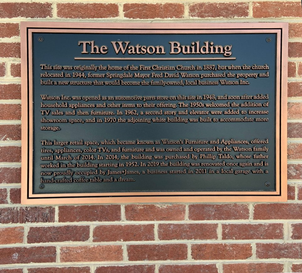 the watson building copper