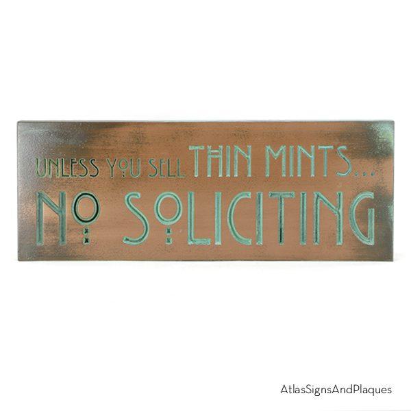 Unless You Sell Thin Mints Copper Verdi