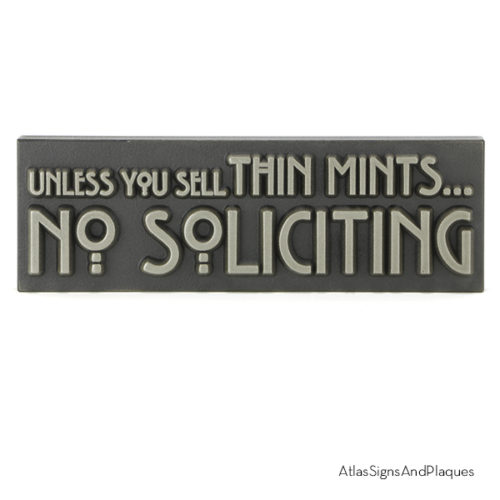 Unless You Sell Thin Mints Silver Nickel Raised