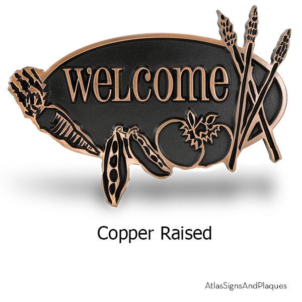 Vegetable Garden Copper Raised
