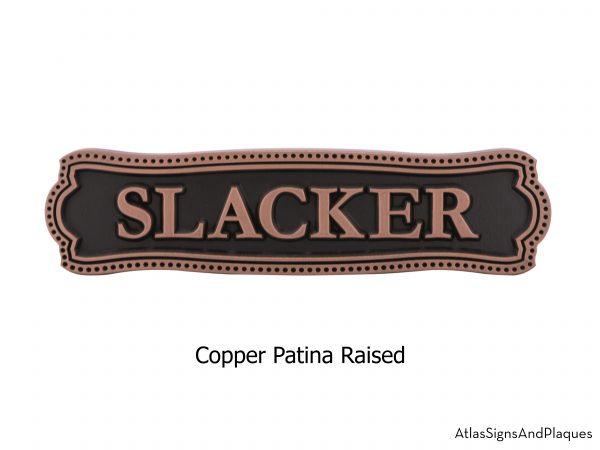 Victorian Name Plaque