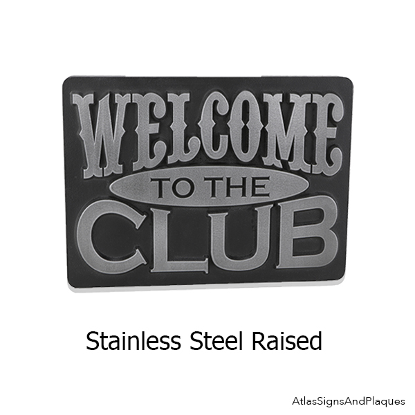 Welcome to The Club Stainless Steel