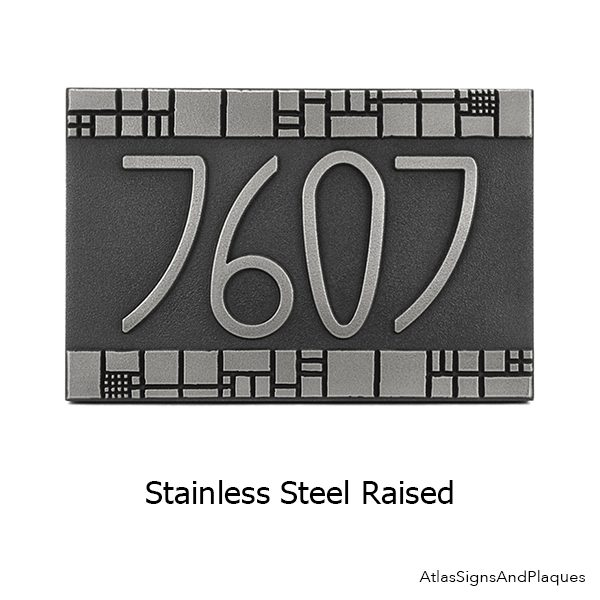 Stainless Steel Raised
