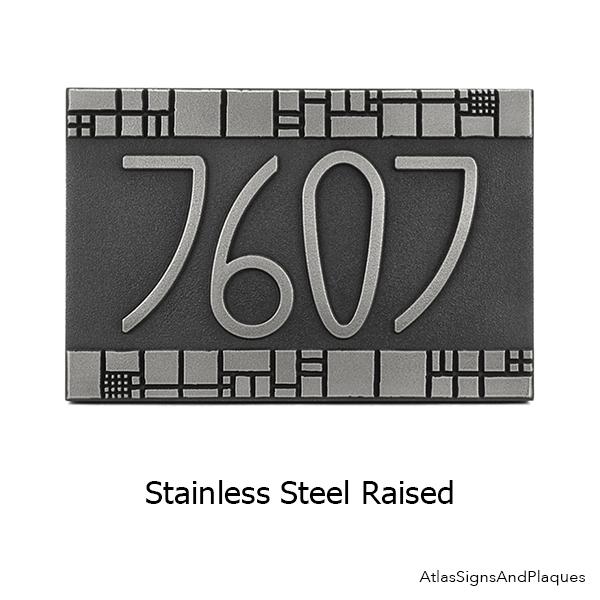Stainless Steel Raised