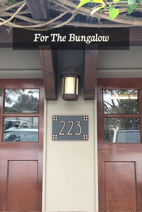 Bungalow Signs