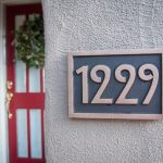 Hi, We love our new address sign! Thanks for the beautiful work.