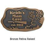 Buck Man Cave - Bronze