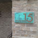 Janey ….. we absolutely love our address sign – have gotten lots of compliments!