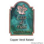 Orchid Historic Marker - Copper Verdi