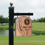 Golf Tee Marker - Copper