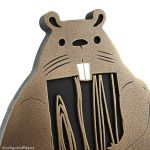 Woodland Animals Plaque - Bronze Detail with Paint