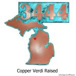 State of Mind - Copper Verdi with Optional Painted Heart