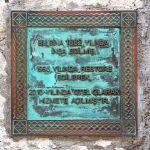 Traditional Historic Plaque - Bronze Verdi