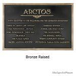 Arctos Bronze Raised