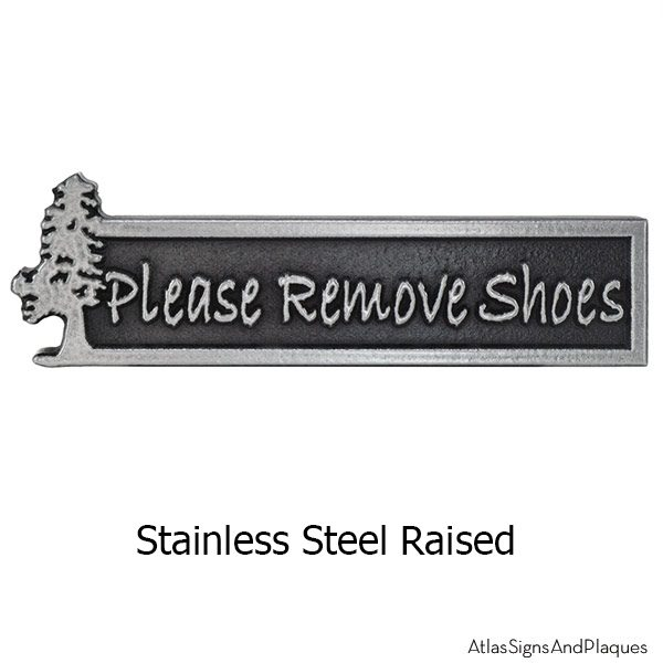 Stainless Steel Evergreen Pine Tree Remove Shoes Mini
