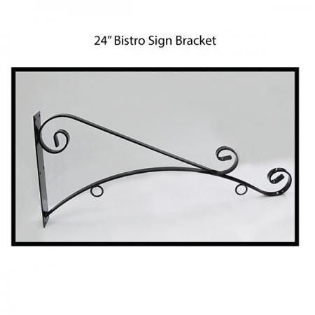 "24"" Bistro Sign Bracket"